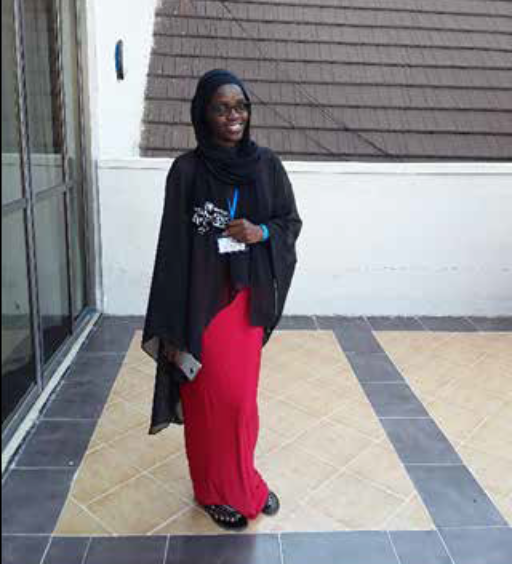 Asha Suleiman, SCORE CVE Youth Business Plan Competition beneficiary