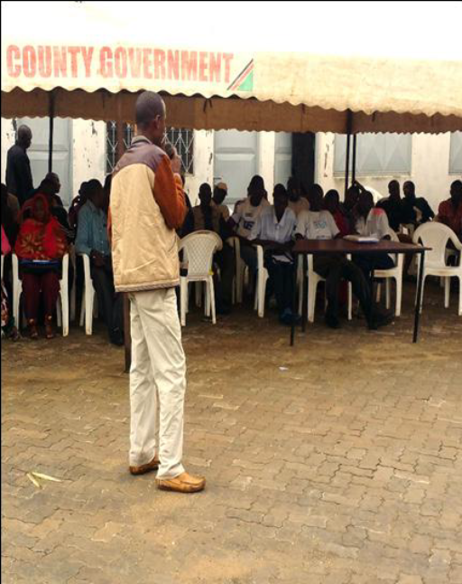 Josphat Nzamba, business training beneficiary