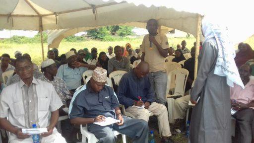 Report on Public Participation for Tsimba-Golini Ward