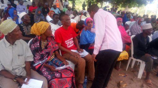 Kinondo Ward Citizens Public Participation