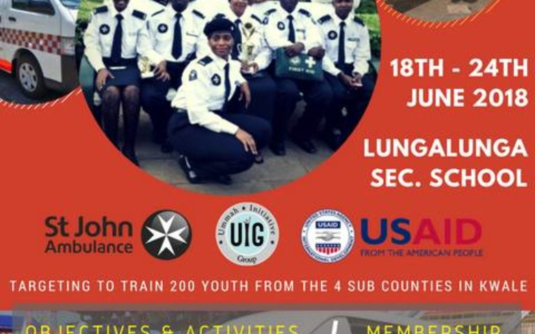 KWALE CADET FIRST AID TRAINING