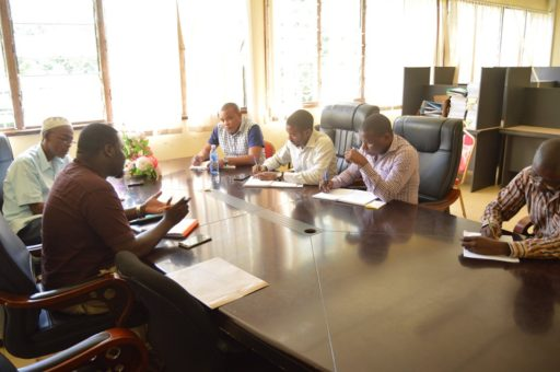 Kwale County Government Investments Officer Meeting
