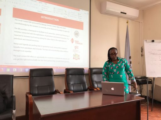 Operationalization of the Kwale Local Content Project